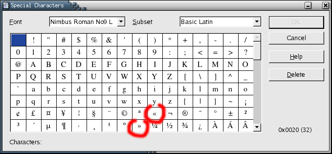 comment trouver les guillemets sur le clavier
